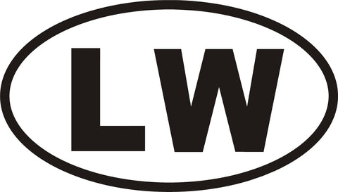 LW ( Lake Wallenpaupack ) Decal - Hollywood Creations - dipdude - hydro dip - led lights - noco