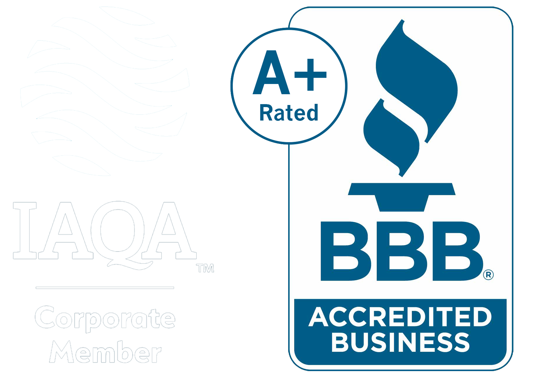 Refresh Smart Home as a Better Business Bureau A+ IAQA