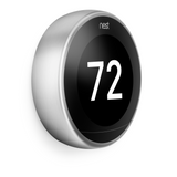 energy saving nest learning thermostat 3rd gen stainless
