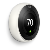 energy saving nest learning thermostat 3rd gen white