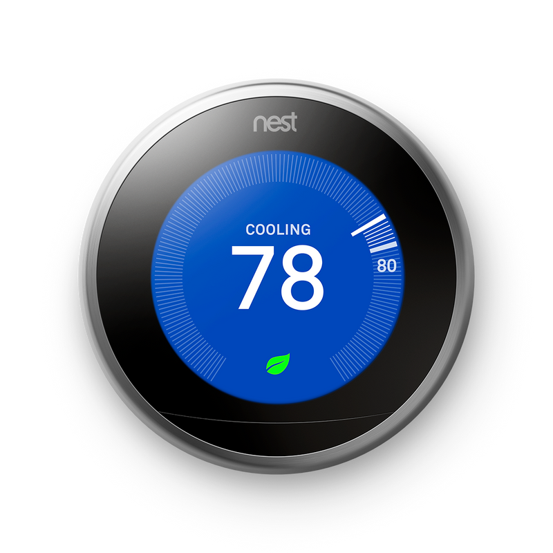Google Nest Learning Thermostat 3rd Gen - Refresh Smart Home