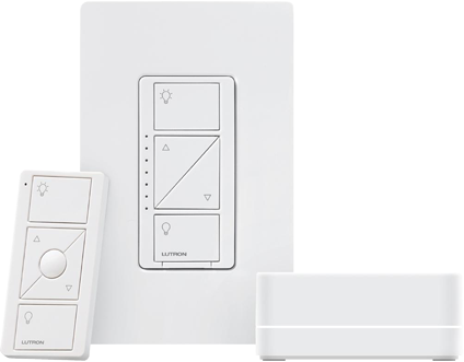 Lutron Caseta Smart Lighting Starter Kit - Refresh Smart Home