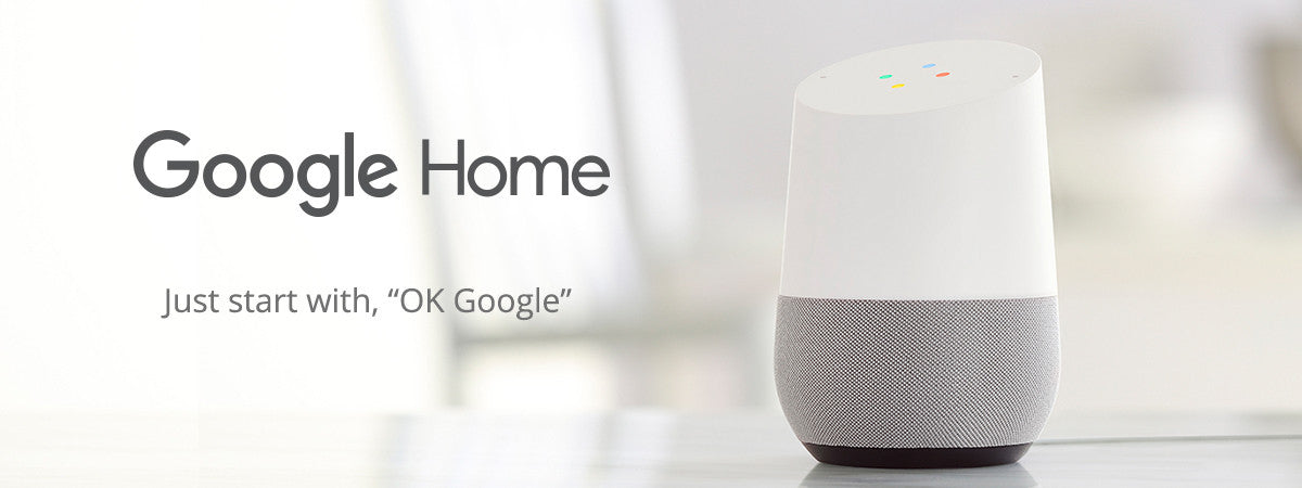 Refresh Smart Home Portfolio WiFi Speaker Just starts with, OK Google - Google Home