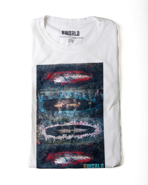 "MEN RWORLD ""RESIN FLOOR"" PHOTO TEE"