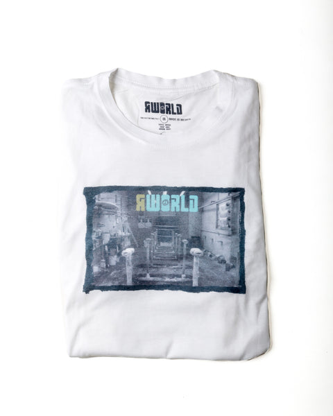 "MEN RWORLD ""FACTORY"" PHOTO TEE"