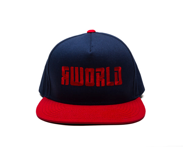 RWorld Logo 5-Panel Classic Snapback Hat