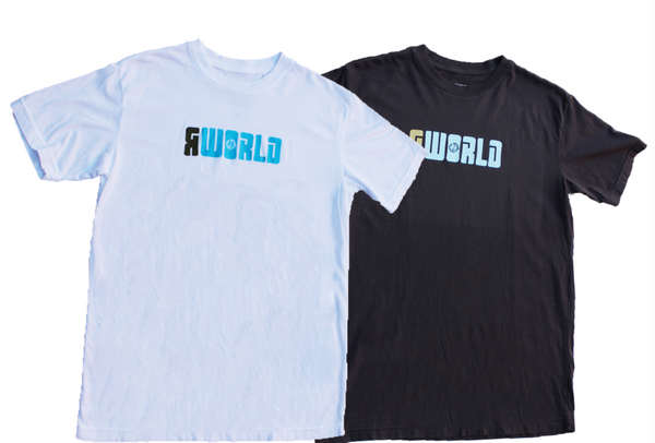 Men RWorld Basic Logo Tee