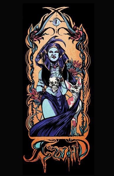 "Poster, ""Death Tarot"" by Alexandria Huntington"