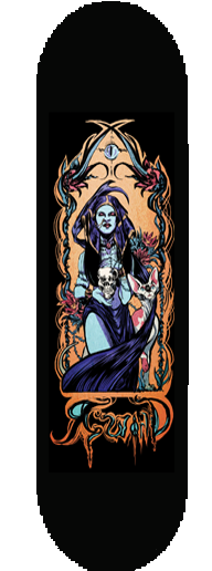 "RWorld ""Death Tarot"" Skateboard Deck"