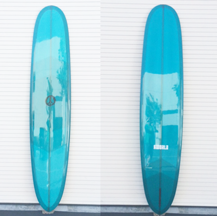 The Point Noserider Longboard Surfboard-California Blue