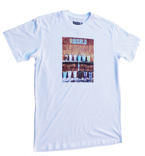 "MEN RWORLD ""COLOR CUPS"" PHOTO TEE"
