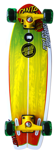 SC LAND SHARK RASTA COMPLETE-8.8x27.7 Cruiser