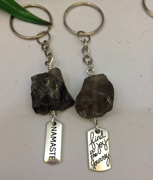 Crystal Healing Gemstone Key chain