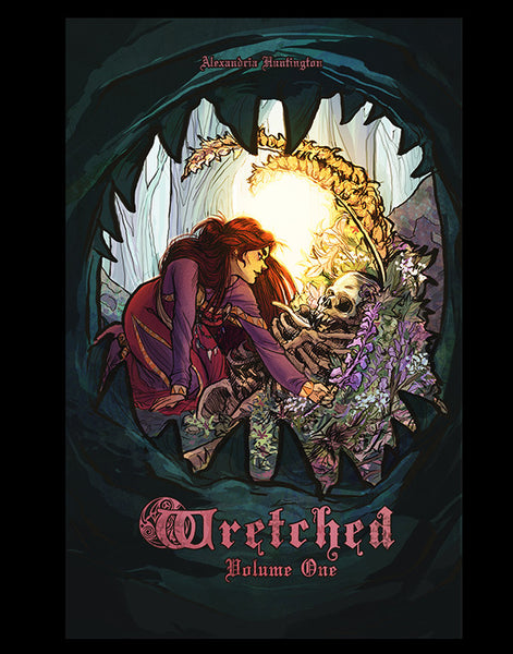 "Poster, ""Wretched"" by Alexandria Huntington"