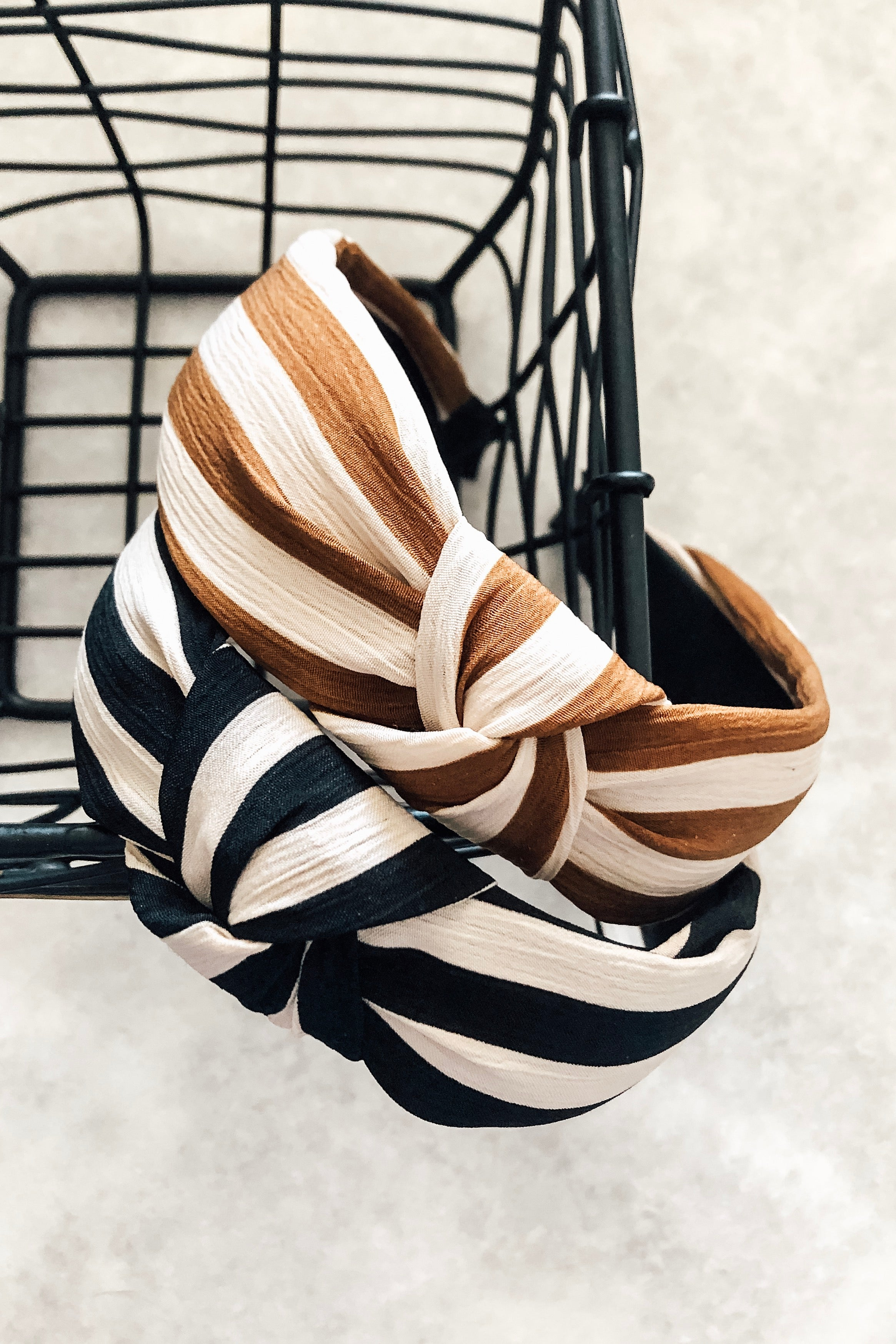 Striped Knotted Headbands