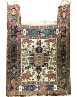 Prayer Sozani Kilim - 3' x 4'2""