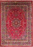 "Mashad signed Red - 8'2"" x 11'8"""