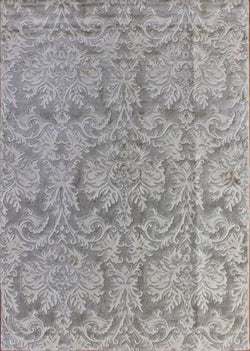 "Royal Saten-16 L Grey/Iv - 5'3"" x 7'6"""