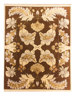 "Indo Persian 1005 Brown/L.G - 8'0"" x 10'0"" (244cm x 305cm)"