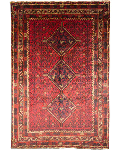 "Shiraz 450 Red - 7'1"" x 10'4"" (215cm x 316cm)"