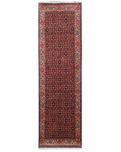 "Bijar 350 Red Runner - 2'10"" x 9'7"" (87cm x 291cm)"
