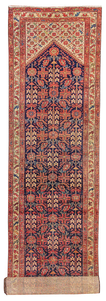 "Malayer 300 Red Antique - 3'3"" x 16'7"" (100cm x 505cm)"