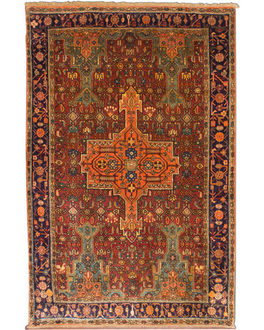 "Bijar Semi antique 4'3"" x 6'6"""