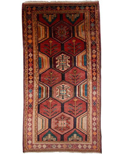 "Hamadan Antique Multi - 5'3"" x 10'5"" (159cm x 317cm)"