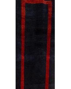 "Gabbeh 108 Blue/Red Runner - 2'6"" x 9'5"" (75cm x 288cm)"