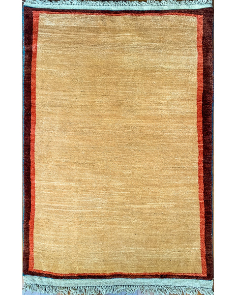 "Gabbeh 63.2 Red - 2'10"" x 4'10"""