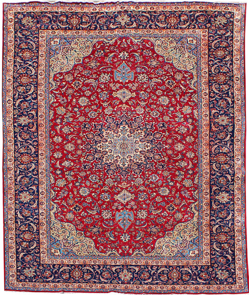 "Area rug for living space and any room. Floor decor, rugs and carpets from Tabrizi Rugs. Najafabad 2250 - 13'9"" x 21'4"". Canada's most trusted website to buy rugs online."