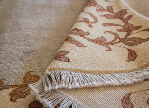 "Tabriz Plain Cream - 5'5"" x 6'6"""