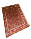 "Tabriz Herati Red 8'8"" x 12'0"""