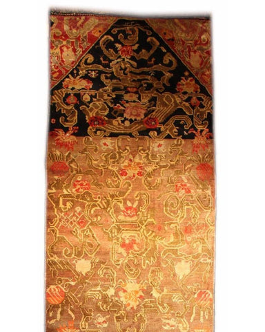 "Armani Gol Frang Antique Runner - 3'11"" x 15'2"""