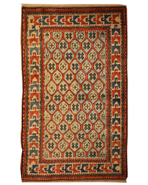"Area rug for living space and any room. Floor decor, rugs and carpets from Tabrizi Rugs. Milas - 3'3"" x 5'2"". Canada's most trusted website to buy rugs online."