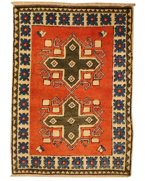 "Area rug for living space and any room. Floor decor, rugs and carpets from Tabrizi Rugs. Yoruk - 2'6"" x 3'7"". Canada's most trusted website to buy rugs online."