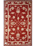 "Jamuna Red 2 - 4'2"" x 6'8"""