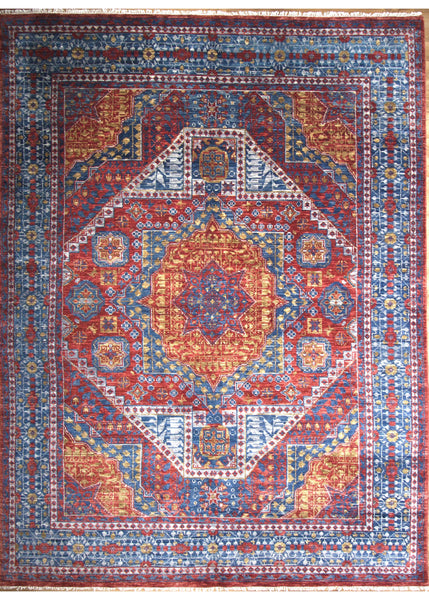 "Gangam As 13 Red - 9'0"" x 12'0"" (274cm x 366cm)"