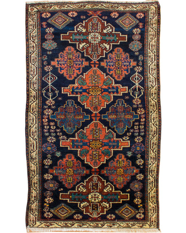 "Hamadan Antique - 3'7""x 6'2""  (109cm x 188cm)"