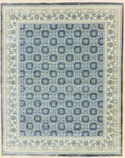 Nirmal NS 118	Blue	 - 8'2'' x 10'3'' (244cm x 305cm)