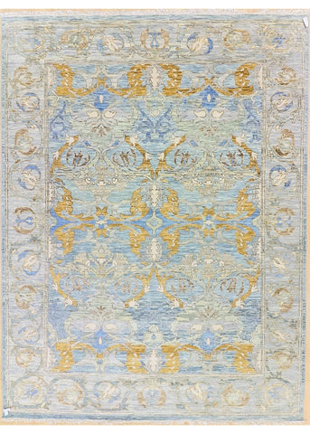 Gangam AS 10 Beige /Blue  -  9' x 12''0' (274cm x 335cm)