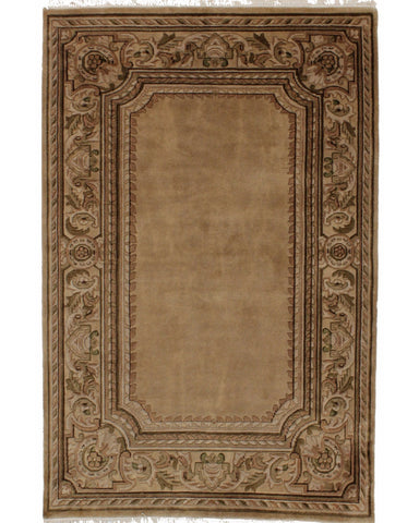 "Aubusson Knotted Taupe - 	9'0"" x 12'0"" (274cm x 366cm)"
