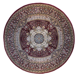 Bostan 05 Red - Round - Multiple Sizes