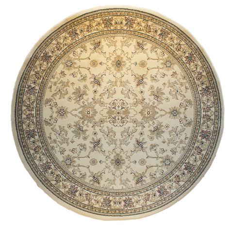 Bostan 123 Cream - Round - Multiple Sizes