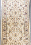 Bostan 123 Cream - Hallway Runner