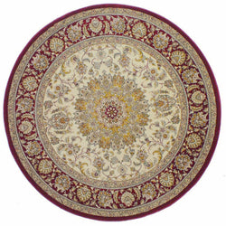 Bostan 1921 Cream/Red - Round - Multiple Sizes