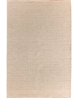 Dhurrie 131 Ivory/Beige - Multiple Sizes