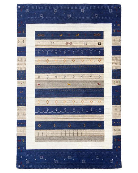 Gabbeh 6010 Blue - Multiple Sizes