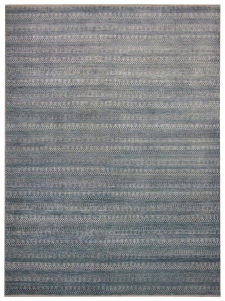 Grass Light Blue - 8'9'' x 11'9'' (271cm x 363cm)