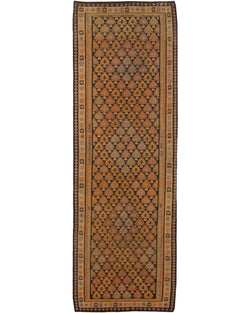 "Killim Senneh Antique - 3'4"" x 10' (102cm x 305cm)"